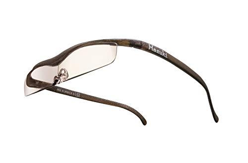 Hazuki ハズキルーペ 直営店 公式店 限定 倍率交換保証付き クール 1.6倍 カラーレンズ ブラウン ハズキ 拡大鏡 ルーペ メガネ型 眼鏡型 めがね型 メガネ 眼鏡 めがね 日本製 MADE IN JAPAN ギフト