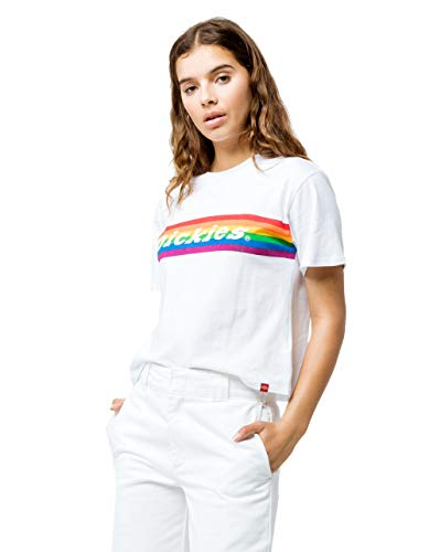 Dickies Girl - Tomboy T-Shirt, Small, Wh