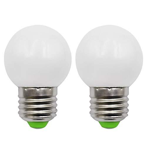 E27 LED Lampe G45 3W Ersetzt 30W Glühlampen 230V Nicht Dimmbar 4000K Natürliches Licht Klein G45 Globus Lampe Für Bädern Wandleuchte Wohnzimmer, 2er-Pack[MEHRWEG]