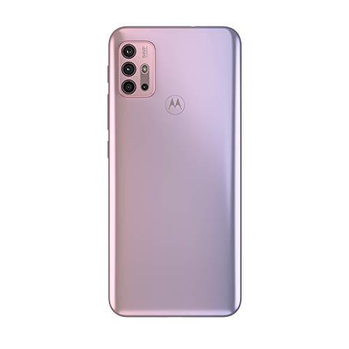 "Motorola moto g30 (6,5""-Display, 64-MP-Kamera, 4/128 GB, 5000 mAh, Dual-SIM, Android 11) Pastel Sky, inkl. Schutzcover [Exklusiv bei Amazon] - 5"