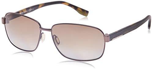 Hugo Boss Boss 0649/F/S LA OJS Gafas de sol, Marrón (Bw Black Hvn Green/Brown Sf Pz), 63 Unisex-Adulto