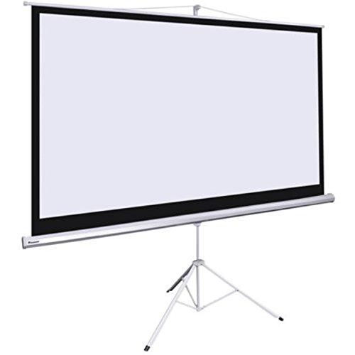 "100""D Portable Tripod Projector 16:9 Screen Projection 87x49 Inch Stand Wall Outdoor Motorized Fold-able Stand"