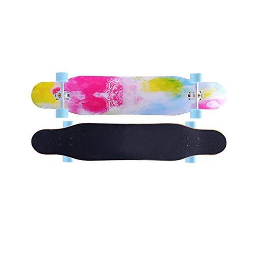 ZHNA Komplettes Skateboard, Geeignet for Extremsport und Outdoor Activity Scooter, Mini Cooler Skateboard