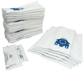 Miele GN Staubsaugerbeutel X 20& Filter–Mikrofaser Staubbeutel mit Kunststoff Tasche Rahmen–Auspuff Filter geeignet für S2110,,, S300i, S400, S400I, S5000, S600Und S800Serie Katze und Hund–von RADVAC