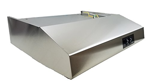 """20"""" Stainless Steel Rear Ducted RV Range Hood (12 Volt DC)"""