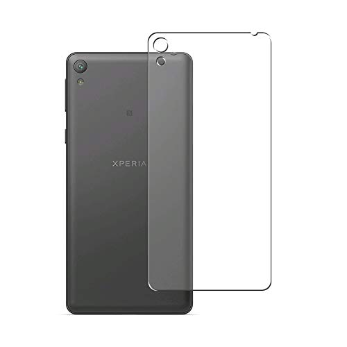 Vaxson 2 Unidades Protector de pantalla Posterior, compatible con Sony Xperia E5 F3311 [No Vidrio Templado] TPU Película Protectora Espalda Skin Cover