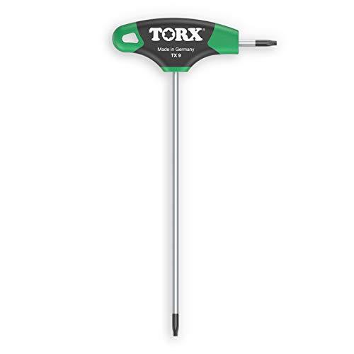 TORX® 70488 Destornillador con mango en T TX9, con Duplex Grip — Made in Germany