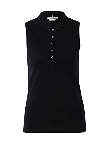 Tommy Hilfiger Poloshirt voor dames, No Sleeve Slim Polo
