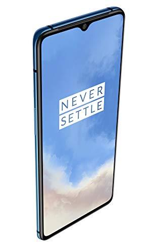 OnePlus 7T (Glacier Blue, 8GB RAM, Fluid AMOLED Display, 256GB Storage, 3800mAH Battery)