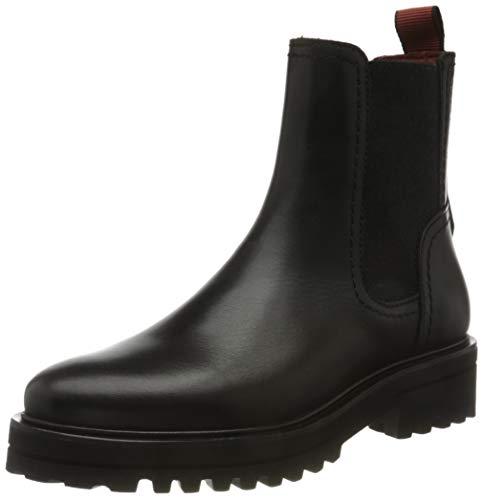 Marc O'Polo Damen 00815965002152 Chelsea-Stiefel, 990 Black, 37.5 EU