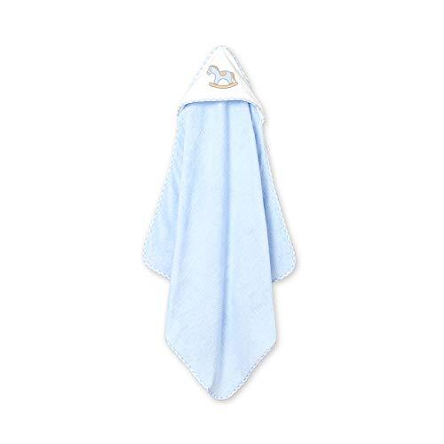 Mayoral Toalla Bordado bebé Azul