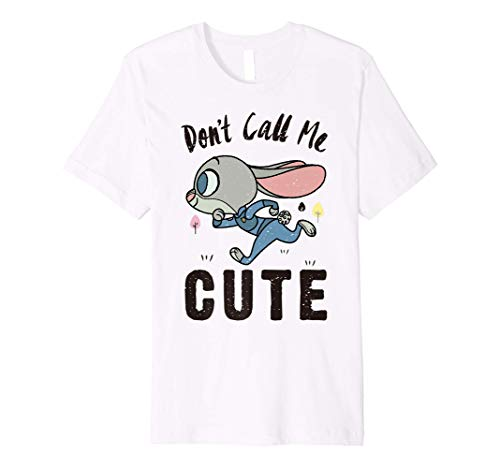 Disney Zootopia Judy Hopps Don't Call Me Cute Premium T-Shirt