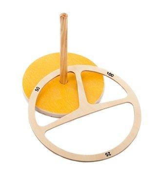 Spordas 1010390 werpspel met ring, hout, retro