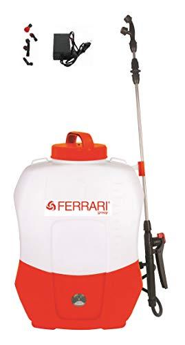 Ferrari Pompa IRRORATRICE A Zaino A Batteria 12V 20 LT Pompa Spalla elettrica
