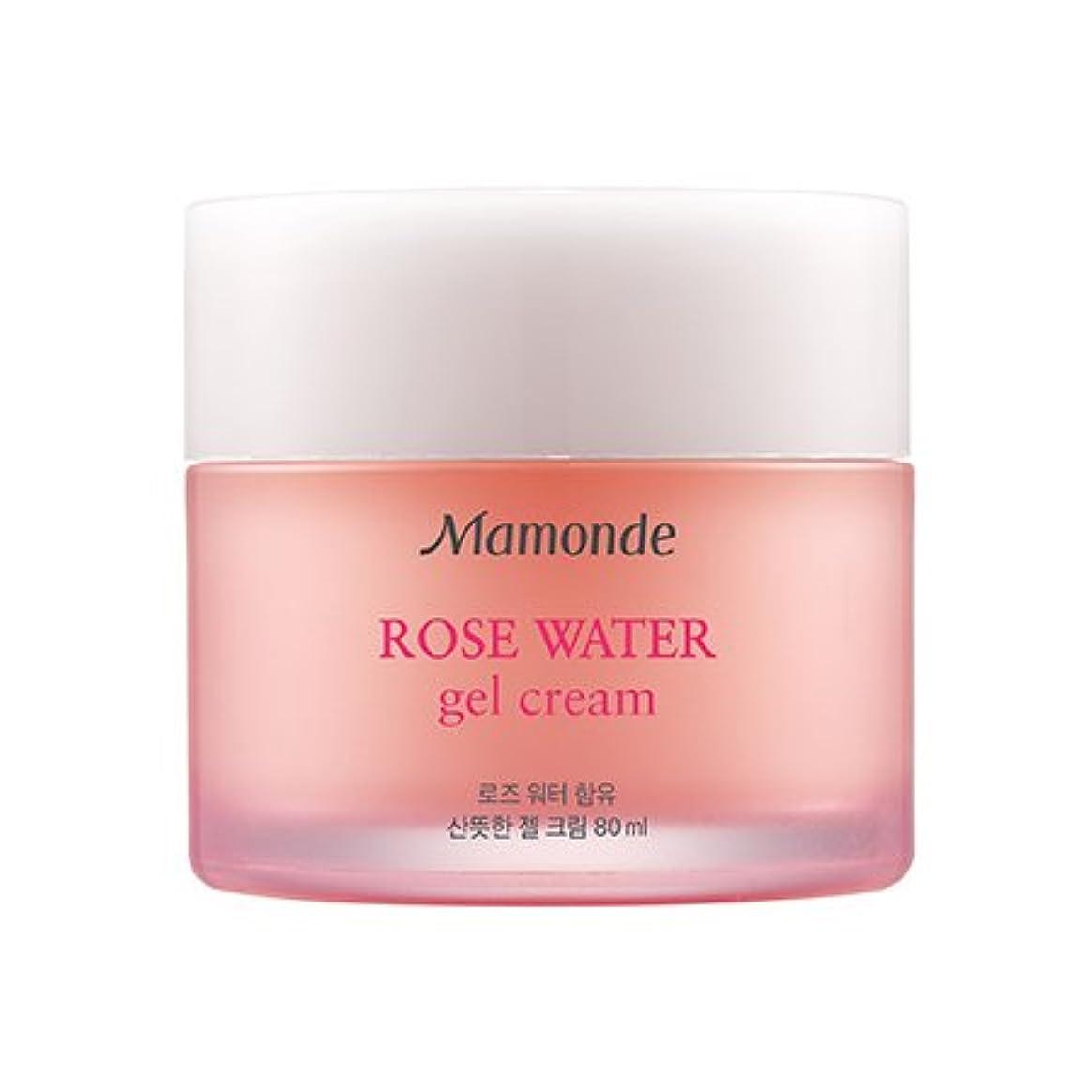 流す親指カビMamonde Rose Water Gel Cream 80ml/マモンド ローズ ウォーター ジェル クリーム 80ml [並行輸入品]