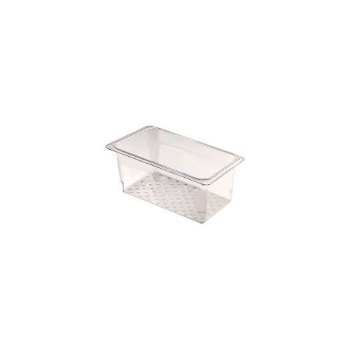 Cambro Clear Camwear Colander for 1/3 Size Food Pans