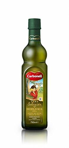 Aceite de oliva virgen extra carbonell monovarietal hojiblanca 0,75 litro en vidrio
