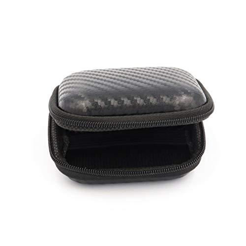 Bolsa De Caja De Tamaño Portátil Caja De Almacenamiento Impermeable para Cámara Deportiva Adecuado para Xiaomi Negro
