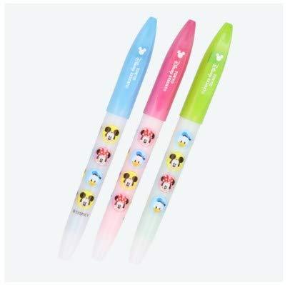ディズニー 蛍光ペン スタンピー 3本セット ミッキーマーク スタンプ 蛍光ペンセット 東京 ディズニーリゾート TDR