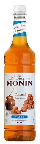 Monin Premium Caramel Sugar Free Syrup 1 L