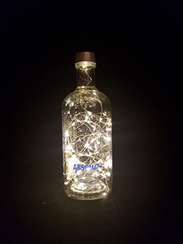 Absolut Vodka Limited Edition - Lámpara para botella (80 ledes)