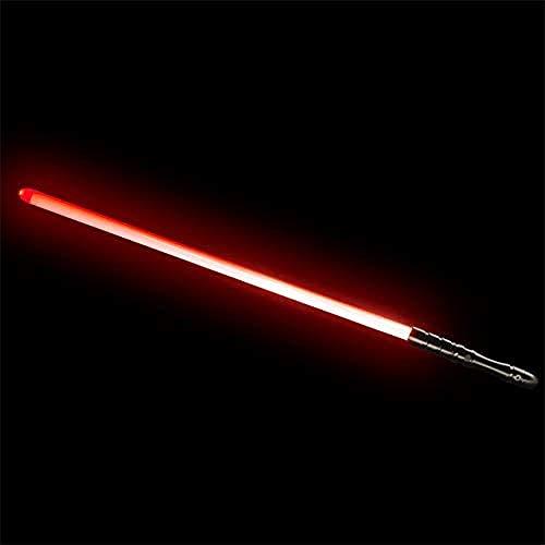 GYX Espada brillante de Star Wars espada Jedi cabeza de aluminio 16 cambios de color.