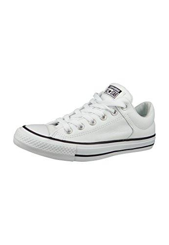 Converse CT High Street, Zapatillas de Deporte Mujer, Blanco (White/Black/White 001), 38 EU