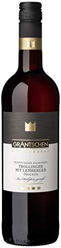 Württemberger Wein Grantschener Trollinger mit Lemberger QW - Im Eichenfass gereift - trocken (1 x 0.75 l)