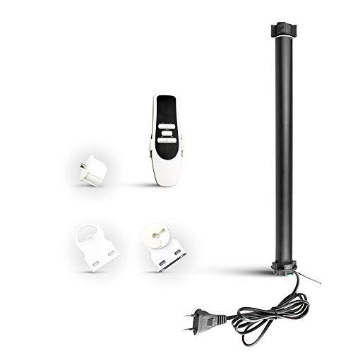 zemismart WiFi-rolgordijn Motor voor 38 mm buis, spraakbediening/applicatie/timer, Alexa/Google Home Control, buisvormige motor Shurtter