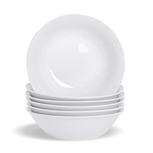 Argon Tableware Weiße Müslischalen Frühstücksbecher - 178mm (7') - 6er Box