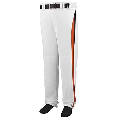Augusta Sportswear Men's 1475, White/Orange/Black, Medium