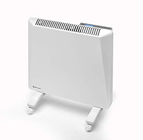 Radialight® Sirio Termoconvettore Elettrico Portatile Basso Consumo Controllo Digitale Temperatura Programmabile Eco Stufa Riscaldatore A Risparmio Energetico Protezione Umidità IP24 (500W)