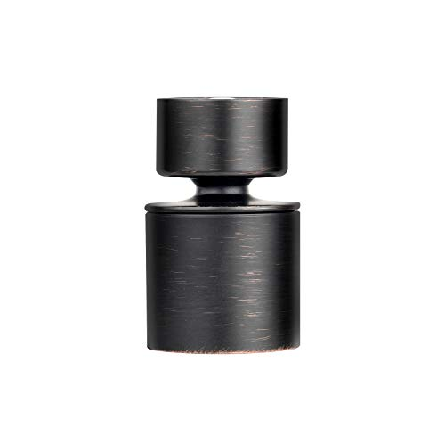 iFealClear Faucet Aerator Female Thread 360-Degree Swivel Water Saving Dual-Modes Spray For Sink Tap Head,Oil Rubbed Bronze,1.8GPM