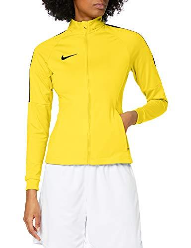 Nike W NK Dry Acdmy18 Trk Jkt K Sport jacket, Mujer, Tour Yellow/ Anthracite/ Black, S