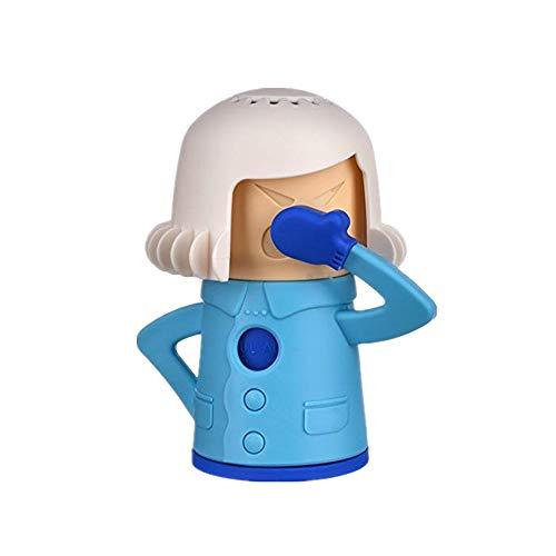 Chilly Mama Fridge Odor Absorber, Refrigerator Moisture Absorber & Freshener Holder,Add Baking Soda to Absorb Funky Odors in The Refrigerator(blue)