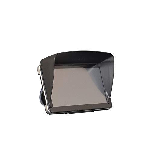 Aofocy 5-Zoll-Navi-Sonnenblende für On-Fahrzeug-Monitor-Sonnenblende One-Touch-Installation
