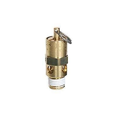 """Midwest Control SRH25-325 ASME Hard Seat Safety Valve, 325 psi, -65 Degree F - 400 Degree F Temperature Range, 1/4"""" from Midwest Control"""