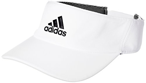 adidas Damen Climalite Visor, White/Black, OSFW