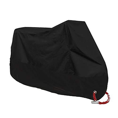 Color : Black Moto Couvre /étanche anti-poussi/ère avec protection UV universel Moto Scooter Tente for Honda VT1100 GROM MSX125 Msx 125 Forza 300