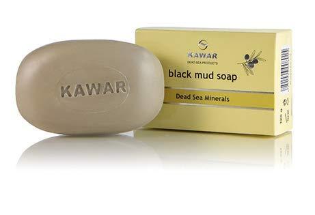 Dead Sea Minerals Black MUD SOAP 120g Made in Jordan / Mer Morte Savon Noir À LA BOUE 120g Fabriqué en Jordanie