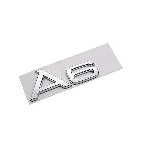 cicisame 1 unids Letras Logo Coche Tronco Pegatina TFSI A3 A6 A6L...
