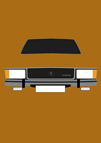 Ford Granada MK1 - Retro Motor Company Greeting Card