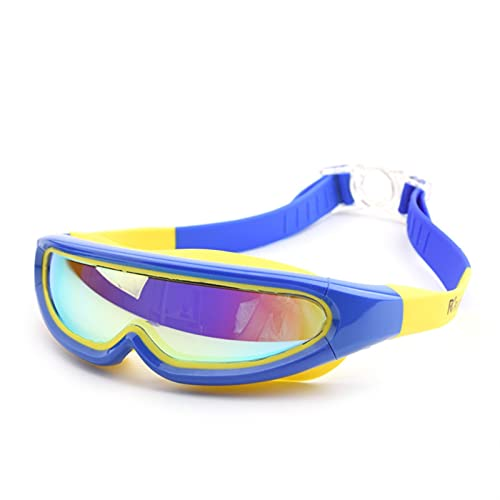 siqiwl Gafas de Natación Niños Anti Niebla Impermeable niños Fresco Arena Nadar Gafas niño niña Profesional