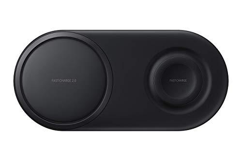 Samsung Wireless Charger Duo Pad EP-P5200 Wireless Charging Mat - Black (Renewed)