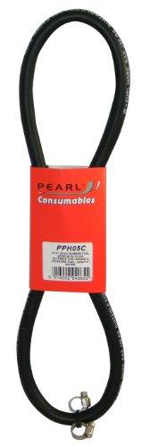 Pearl PPH05C Benzinschlauch mit Klemmen, 1mx8mm