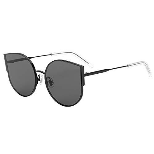 DKEE Gafas de Sol Gafas De Sol UV400 Ojo De Gato Negro Moda Gafas De Sol Polarizadas Mujer Gafas