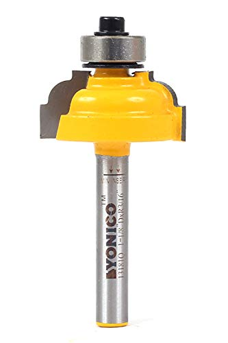 Yonico Router Bits Edge Forming Classical Cove 5/16-Inch 1/4-Inch Shank 13181q