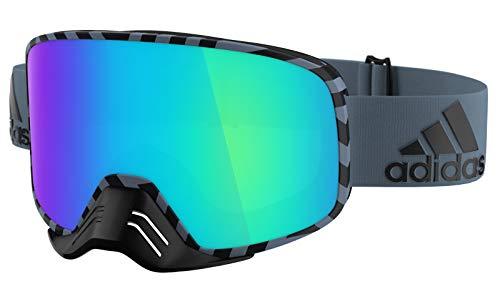 adidas Brille Skibrille Googles ad84 BACKLAND Dirt raw Steel matt 6500