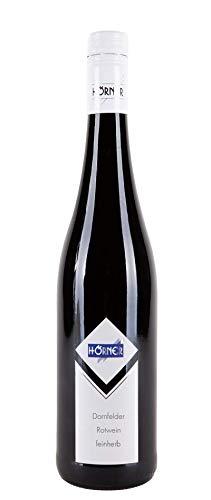 Dornfelder feinherb Rotwein Weingut Hörner (0.75l) (6x0.75l)
