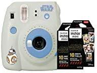 Fujifilm Instax Mini 9 Star Wars Instant Camera + Double Pack Instax Film